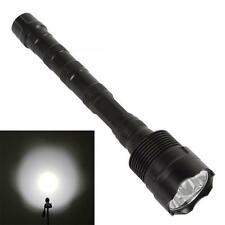 Tactical 3X CREE XML T6 LED 5000LM Extended Waterproof Flashlight Torch Lamp