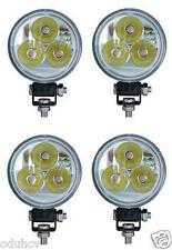 4x 9W LED Flood Beam Work Light Lamp Car Tractor SUV Truck Boat 4WD 12V 24V