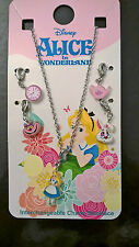 Primark DISNEY ALICE IN WONDERLAND Girls Necklace Charms Jewellery Jewelry
