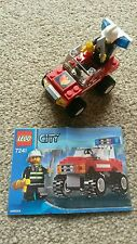Lego City Fire Care(7241) 100% Complete+Instruction