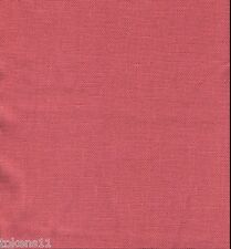 LIBECO 100% BELGIAN LINEN UPHOLSTERY/DRAPERY FABRIC TOMATO BY THE YARD