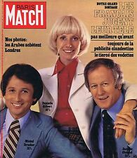 COUVERTURE DE MAGAZINE PARIS MATCH 1429 16/10/76 M.DRUCKER D.GILBERT J.CHANCEL