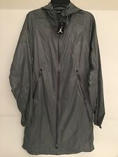 Nike Jordan Lightweight Nylon Parka Mens 719467 065 Men's Sz-L Grey NWT NEW