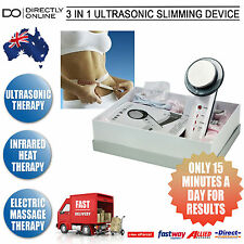 NEW 3IN1 ULTRASONIC SLIMMING DEVICE TONER MASSAGE WEIGHT LOSS CELLULITE MACHINE