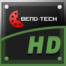 Bend Tech Hd De Escape Header software doblador de escape Tubo Bender