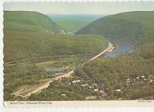 Aerial View Delaware Water Gap Pa USA Old Postcard 071a