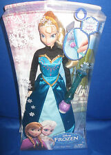 DISNEY FROZEN PRINCESS COLOR MAGIC ELSA W/WAND COLLECTOR GIRLS DOLL, NRFB 6+