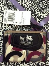 Authentic Coach Wristlet Multicolor Gorgeous New Limited Design
