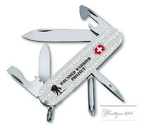 New Victorinox Swiss Army 91mm Knife  Wounded Warrior GRAY TINKER  55073.US1