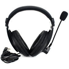 2 Pin VOX PTT Headset Earpiece For Radio Baofeng UV5R,UV8,UV8D,BF888/888s/666 US