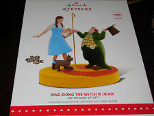 2015 HALLMARK KEEPSAKE ORNAMENT THE WIZARD OF OZ™ Ding-Dong The Witch Is Dead