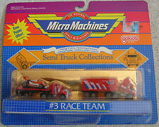 1989 Galoob Micro Machines #3 Race Team Semi Truck Collections  NIP