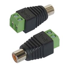 Adapter Cinch/RCA-Buchse 2er-Set