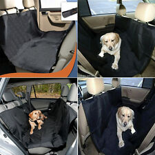 DOG SEAT COVER Pet Car Suv Van Back Rear Bench Waterproof Universal Hammock