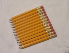 "100 ""School Yellow"" Golf Pencils with Erasers"