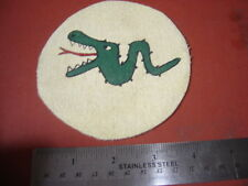 WWII GERMAN LUFTWAFFE 4/JG 1 FIGHTER SQUADRON GREEN  SERPENT   PATCH