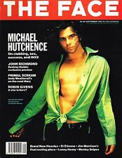 THE FACE September 1991 MICHAEL HUTCHENCE Wesley Snipes INXS Primal Scream @EXCL
