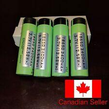 4 x Panasonic NCR18650B 3400mAh 18650 Batteries Flat Top