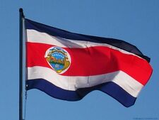 COSTA RICA STATE NATIONAL COUNTRY POLYESTER FLag wall Indoor Outdoor Bandera