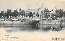 SPAIN - Sevilla - San Telmo desde Triana - Hauser y Menet