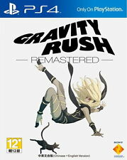 New Sony PS4 Games Gravity Rush Remastered HK Version Chinese/English Subs