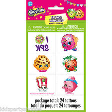 SHOPKINS TATTOOS Birthday Party Supplies Treat Bag Favors Classroom Rewards