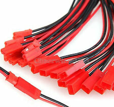 10 pairs JST Plug Connector RC Lipo Battery Male & Female