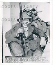 1964 Armed Turkish Cypriots Watch For Greeks Press Photo