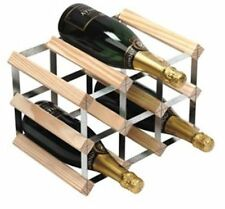 9 Bottle Wine Rack Can be Stacked Counter Top Storage Racks Bottles Storing