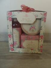 BOOTS BEAUTY BOUTIQUE LUXURY MINI COLLECTION BODY LOTION BATH CRYSTALS BNIB XMAS
