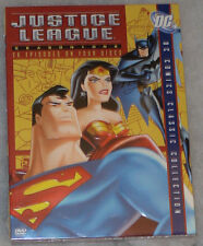 Justice League: Season One 1 (Batman & Superman) - DVD Box Set NEW SEALED