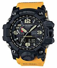 Casio G-Shock Mudmaster Triple Sensor Solar Yellow Resin Watch GWG1000-1A9