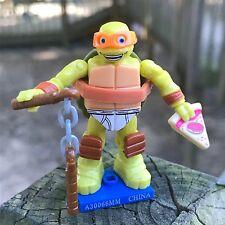 SEALED MEGA BLOKS Teenage Mutant Ninja Turtles PIZZA MIKEY Series 3 Michelangelo