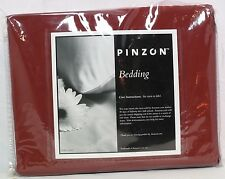 Pinzon 300TC 100% Cotton Percale Sheet Set, Twin Extra-Long, Rosewood