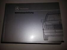 Betriebsanleitung Mercedes Typ W124  200 D * 250D 300 D 250 D Turbo 300 D 4Matic