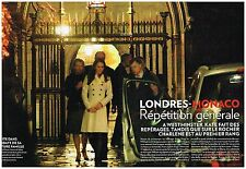 Coupure de presse Clipping 2010 (6 pages) Kate Middleton Charlène Wittstock