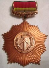 DDR, East Germany Order for Merit to Fatherland, 3rd class, medal