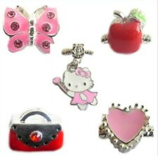 CHILDRENS CHARMS X5 HELLO KITTY FIT CHARM BRACELET