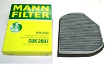 NEW Mercedes W202 W208 C43 C220 C280 CLK430 Cabin Air Filter CUK2897 MANN FILTER