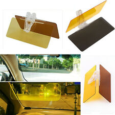 HD Clear View Vision Day Night Sun Visor Anti-Glare UV Blocker Fold Flip Down