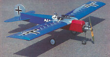 Sport Scale Fokker Airplane Plans, Templates & Instructions