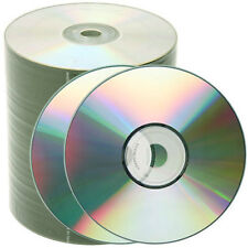 1000 Pcs 52X Shiny Silver Top Blank CD-R CDR Disc Media 700MB