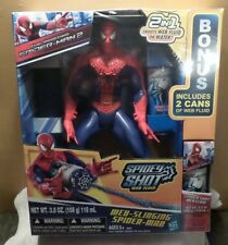 Web Slinging Spider Man Hasbro NIB Action Hero Water Fun