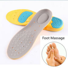 Orthotic Arch Support Shoe Pad Sport Running Gel Insoles Insert Pain Relief