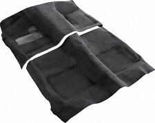 1964-65 Pontiac GTO Automatic Carpet Set 2 PC Black Loop Molded with Padding