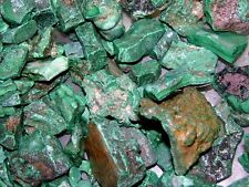 Malachite mine rough all natural Congo,Africa 1/4 pound lot  3 to 8 pieces