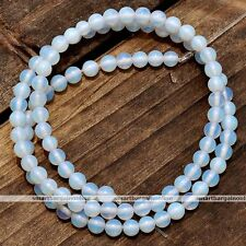 "Chic Loose Beads Fit Bracelet Necklace 15.5""L Opalite 4mm Gemstone Chip Strand"