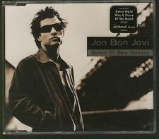 JON BON JOVI Queen Of New Orleans 4 TRACK GERMANY CD SINGLE