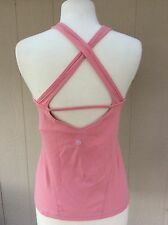 Lululemon Athletic Top Mauve Pink SZ 6/8? GUC