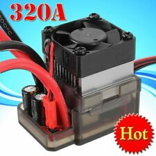 320A 7.2V-16V High Voltage ESC Brushed Speed Controller for RC Car Truck Boat U